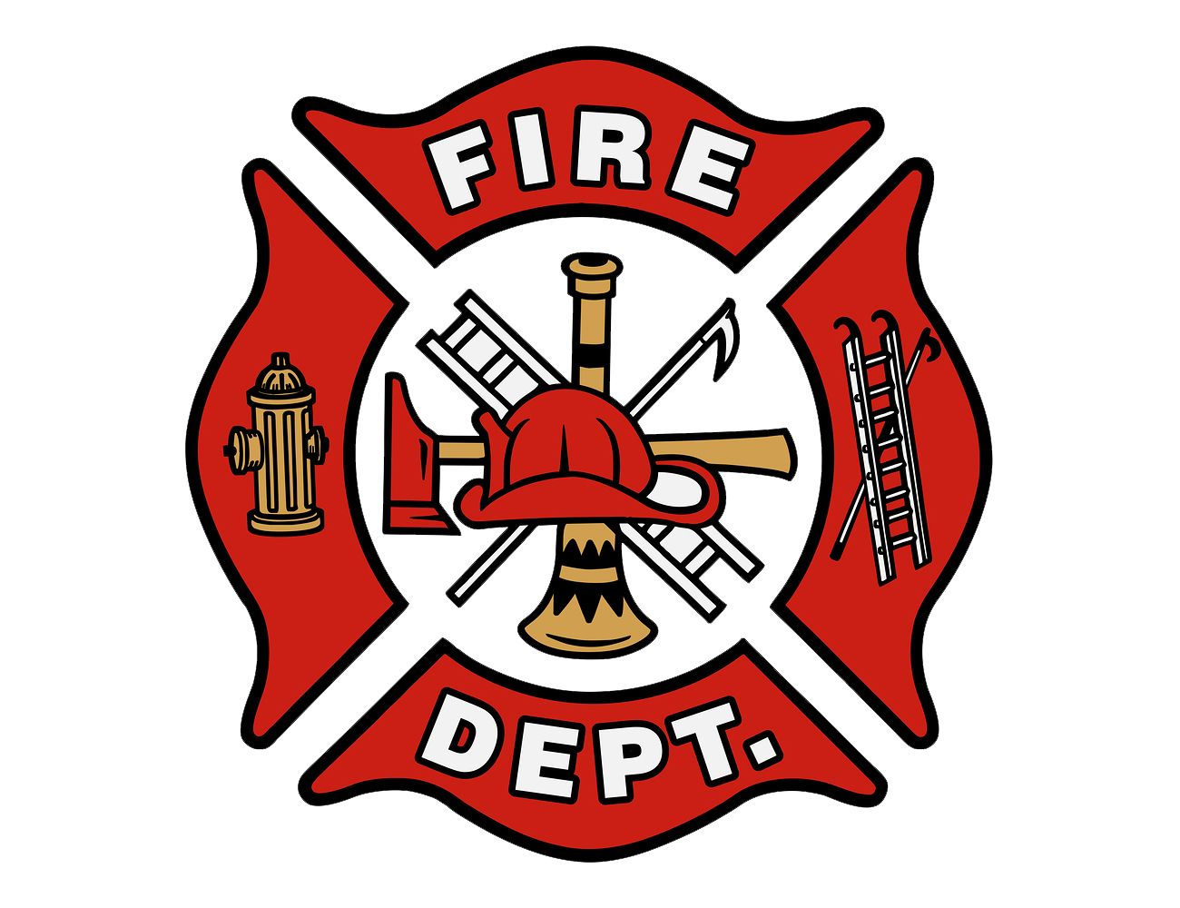 Font Fire Department Logo Fire dept logo, Firefighter