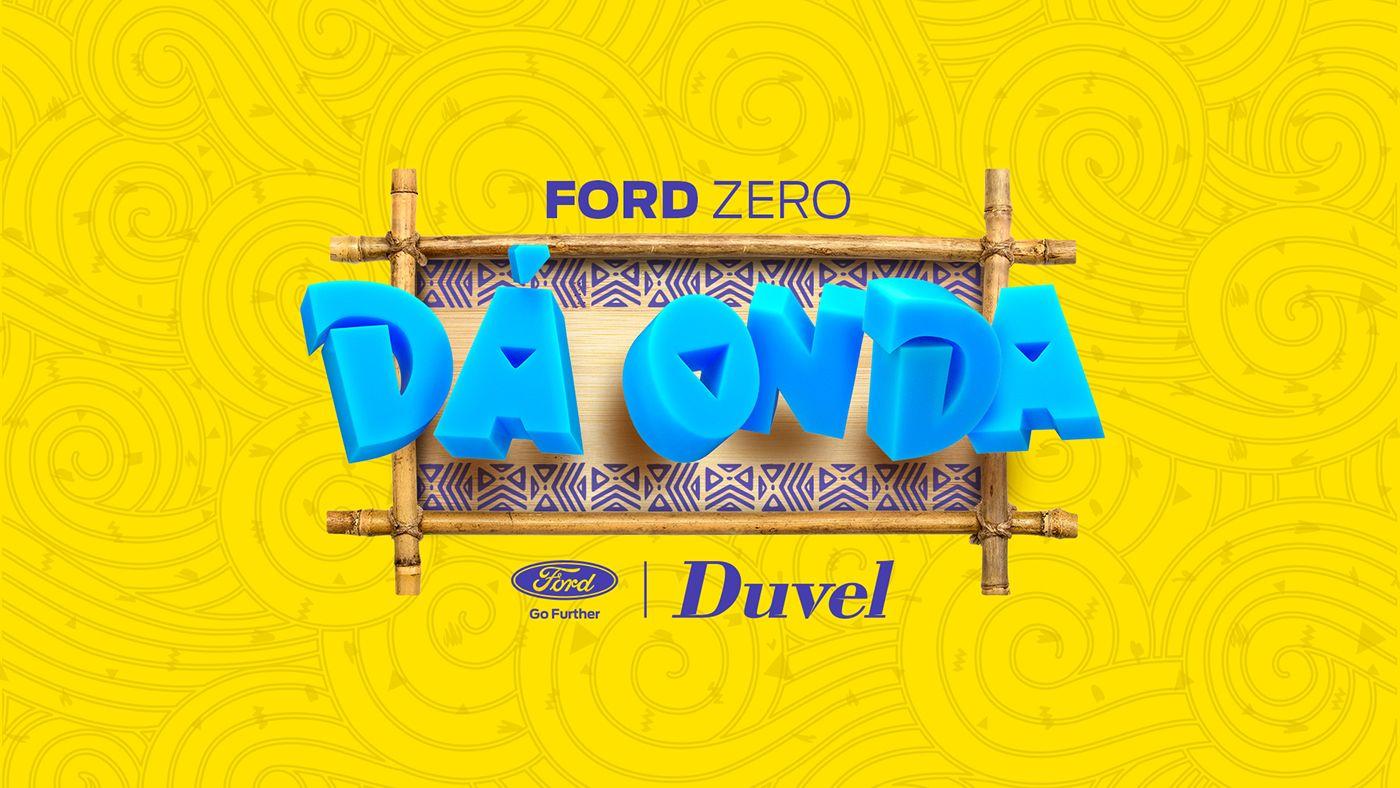 Ford Zero Dá Onda on Behance