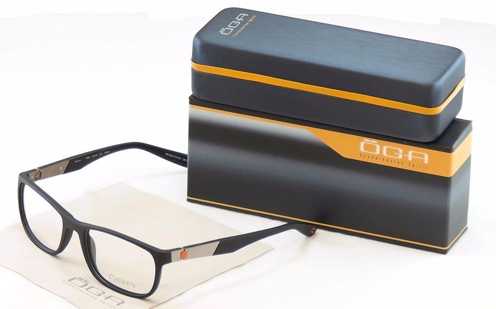 637d5350ca9d Authentic OGA Morel Eyeglasses Frame 71970 NG031 Matt Black Plastic France  Made #OGA