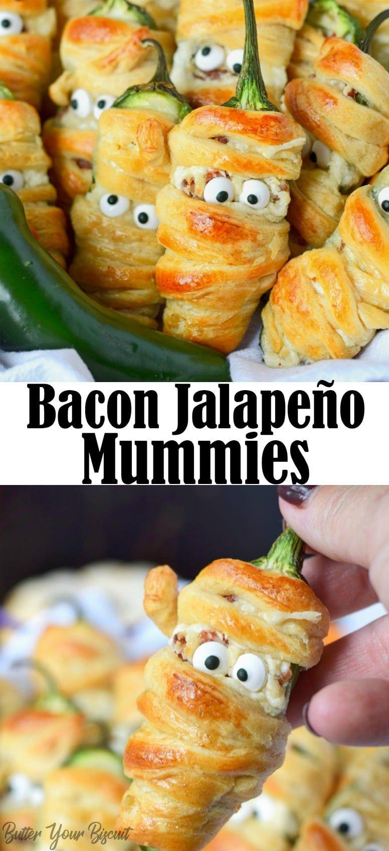 Halloween Bacon Jalapeño Mummies Recipe Stuffed
