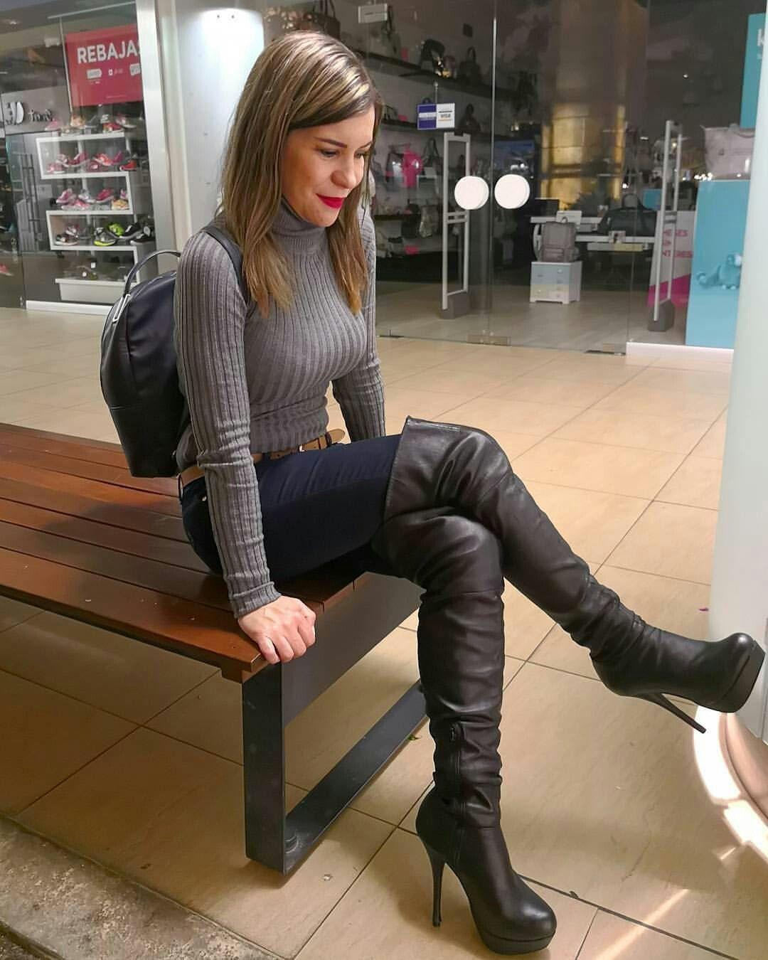 high boots girls