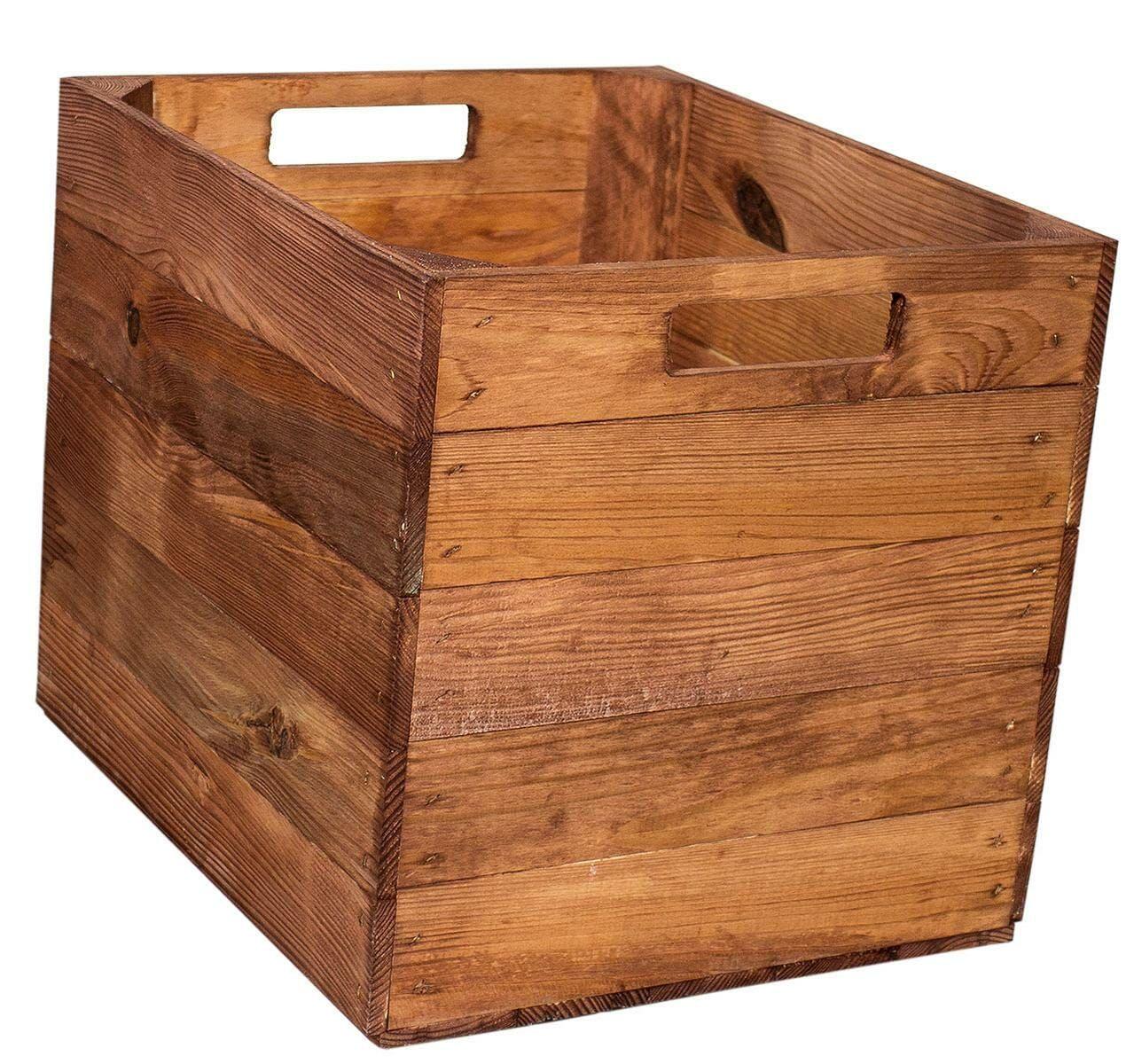 Kallax Regal Kiste – Holzkiste 33x38x33 – 4 Farben