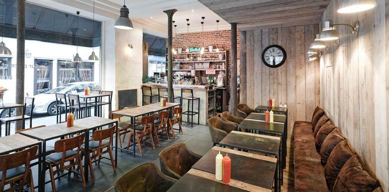 Aménagement d\'un restaurant à burgers par un architecte commercial ...