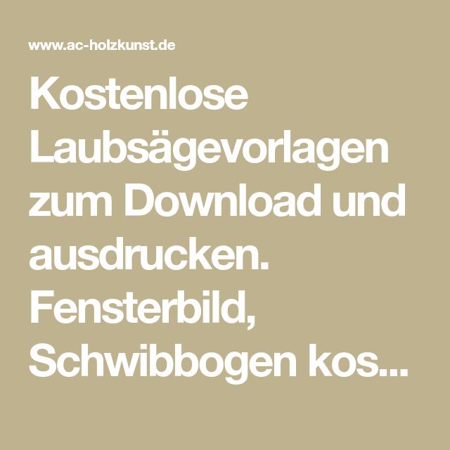 kostenlose laubs gevorlagen zum download und ausdrucken fensterbild schwibbogen kostenlos