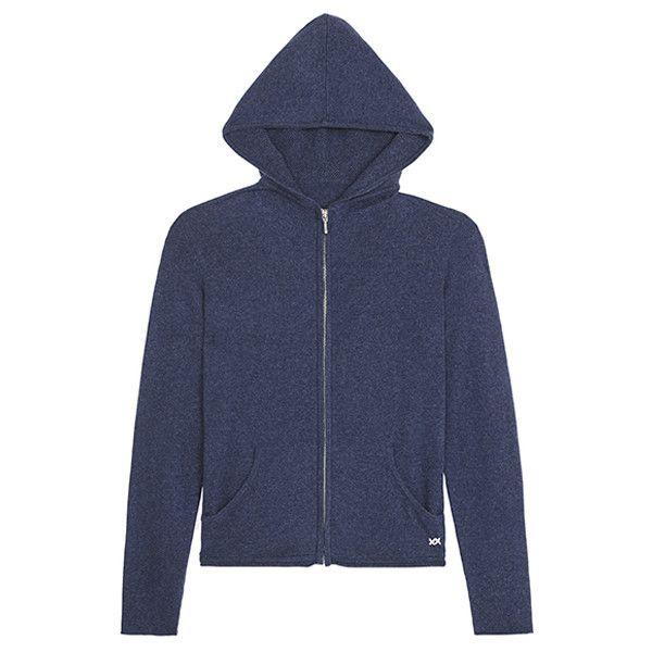 Banjo & Matilda Uber Cashmere Hoodie ($395) ❤ liked on Polyvore featuring tops, hoodies, hoodie top, hooded pullover, cashmere hoodie, hooded sweatshirt and cashmere hoodies