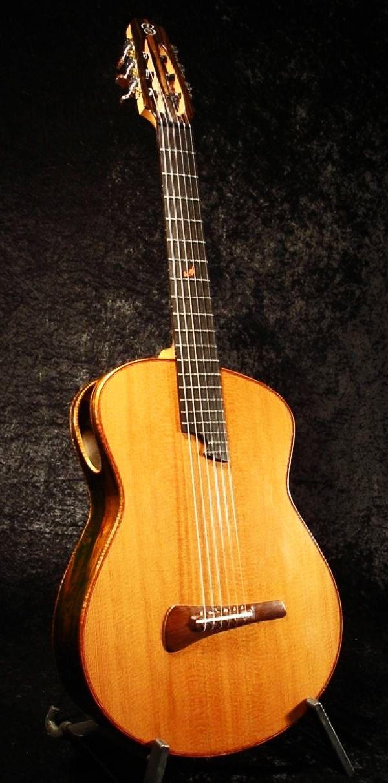 Tom Bills G2n nylon string Redwood & Brazilain Rosewood custom