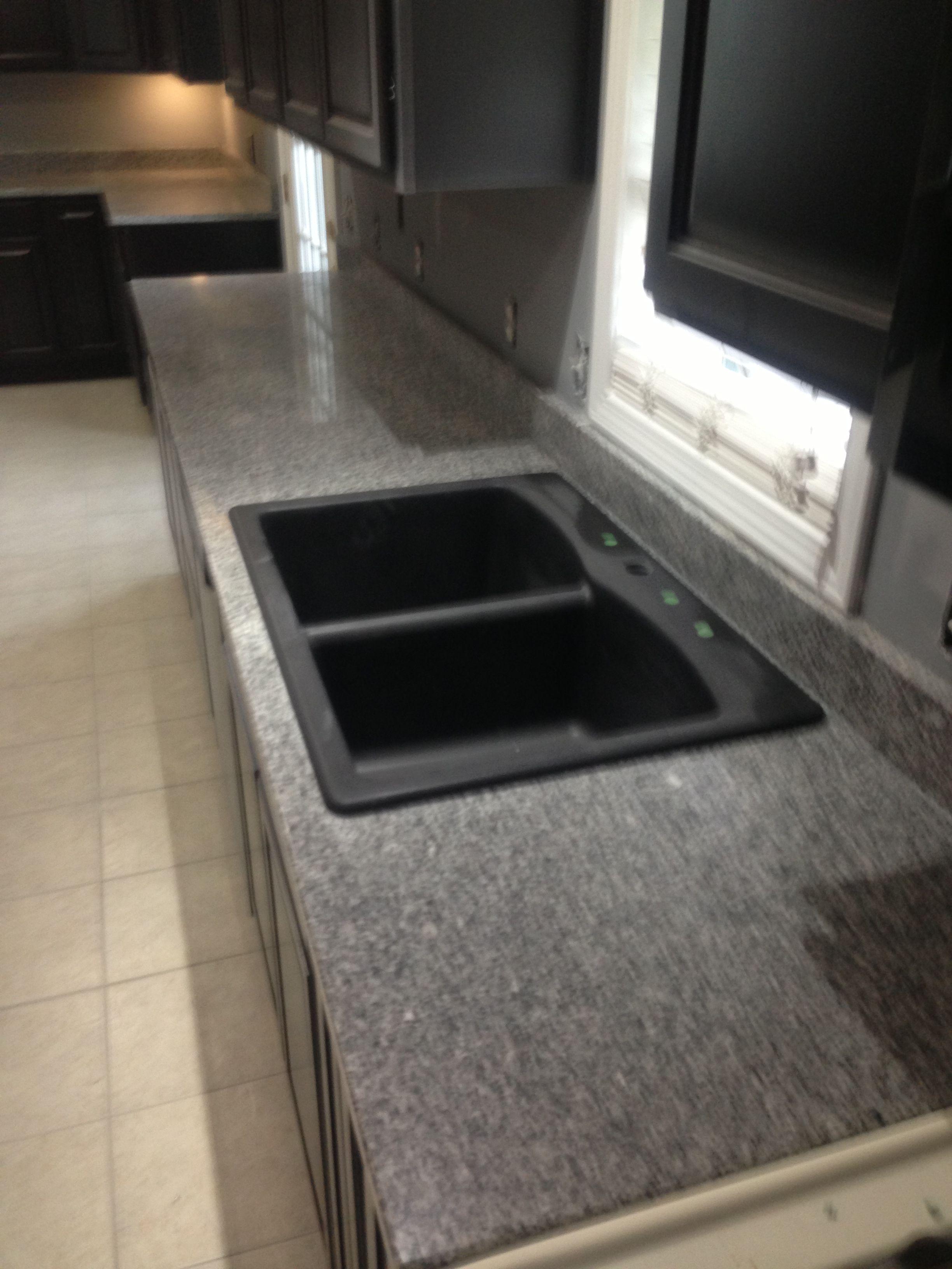 top mount black kitchen sink | sinks | pinterest | black kitchens