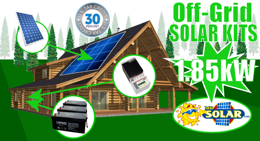 Mr Solar Remotepower 2790 Watt Large Remote Power System Kit Solar Solar Power System Off Grid Solar Power