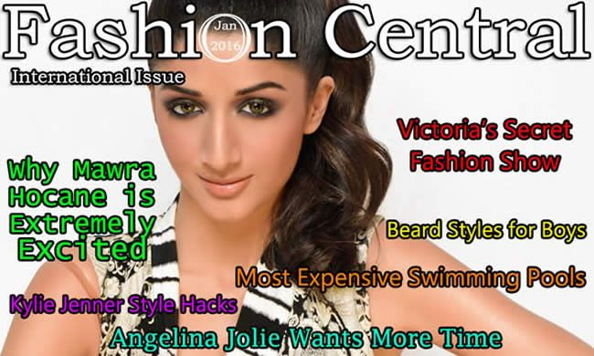 #Fashion Central International January 2016 Issue stands Published