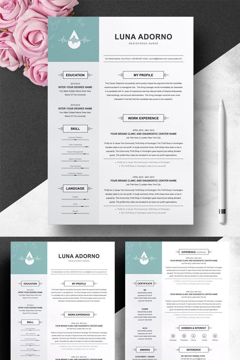 Pin on nursing resume templates