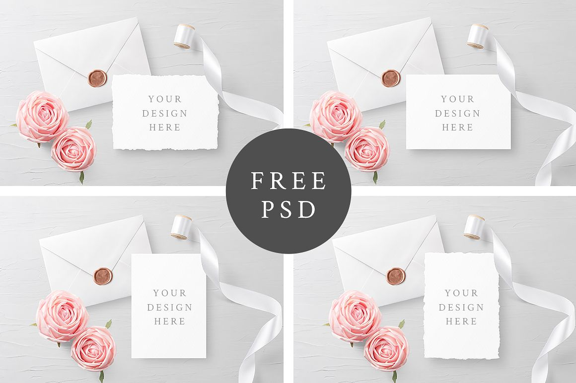 Free Customizable Invitation Card Mockups Pixelify Best Free Fonts Mockups Templates And Stationery Mockup Free Stationery Business Card Free Invitations