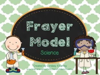 Frayer Model-Science: Includes 13 awesome graphic organizers that can be used as a daily activity to reinforce various science vocabulary words. Thank you for downloading! Please leave feedback!Lyndsey