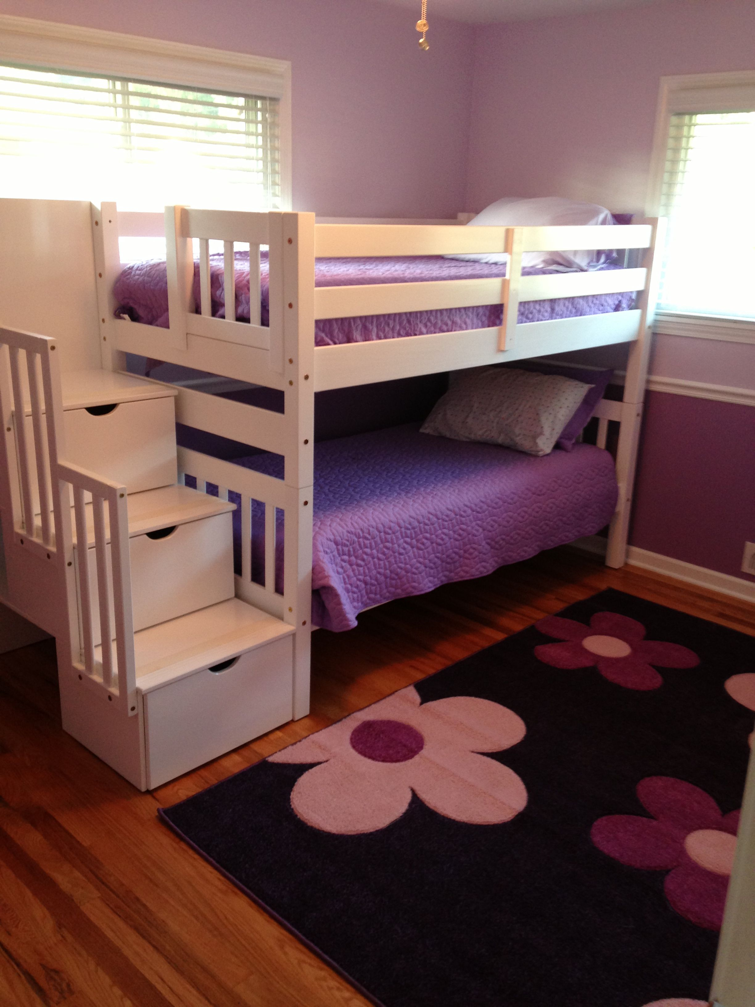 Best Bunk Beds With Stairs Pull Out Drawers Love It Bunk 400 x 300
