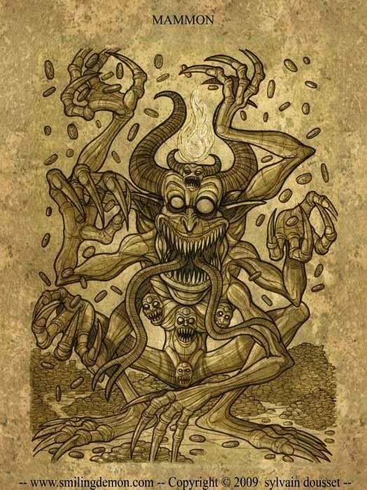 Mammon   The Lesser Key of Solomon   Angels, demons