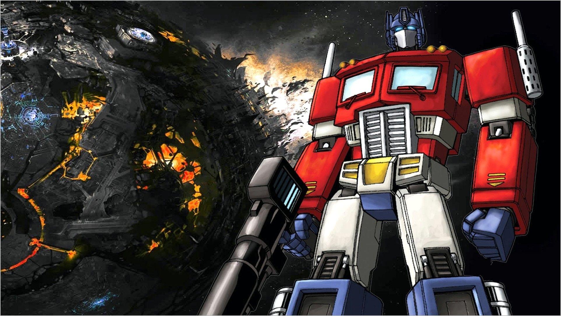 4k Wallpaper Transformers G1 In 2020 Transformers Wall Art Transformers Transformers Canvas