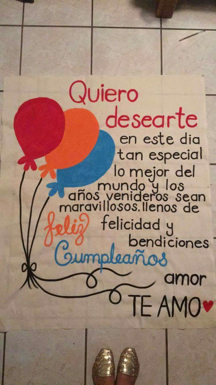 Cumpleañoz | Feliz cumpleaños, Pancartas de feliz