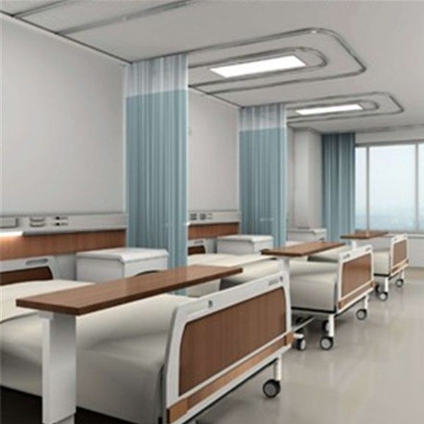 Anti fire fabric for hospital curtain buy anti fire for Chambre hopital design