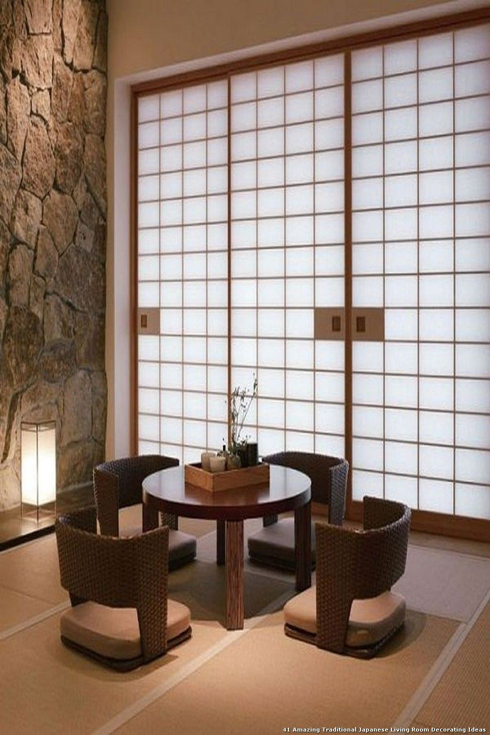 40 Amazing Traditional Japanese Living Room Decorating Ideas In