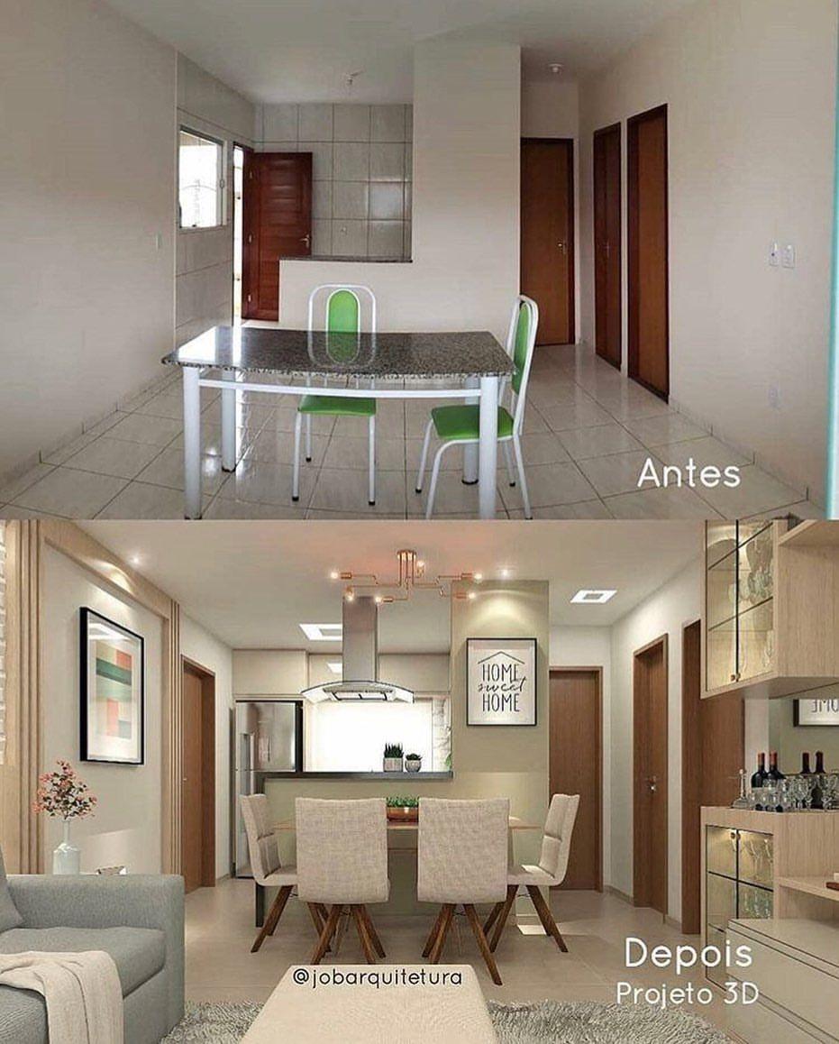 Arquitetura Decor Design Sur Instagram Eudecoroassim Helloooo Lindezas Remodelacion De Casas Pequenas Interiores De Casas Pequenas Interiores De Casa