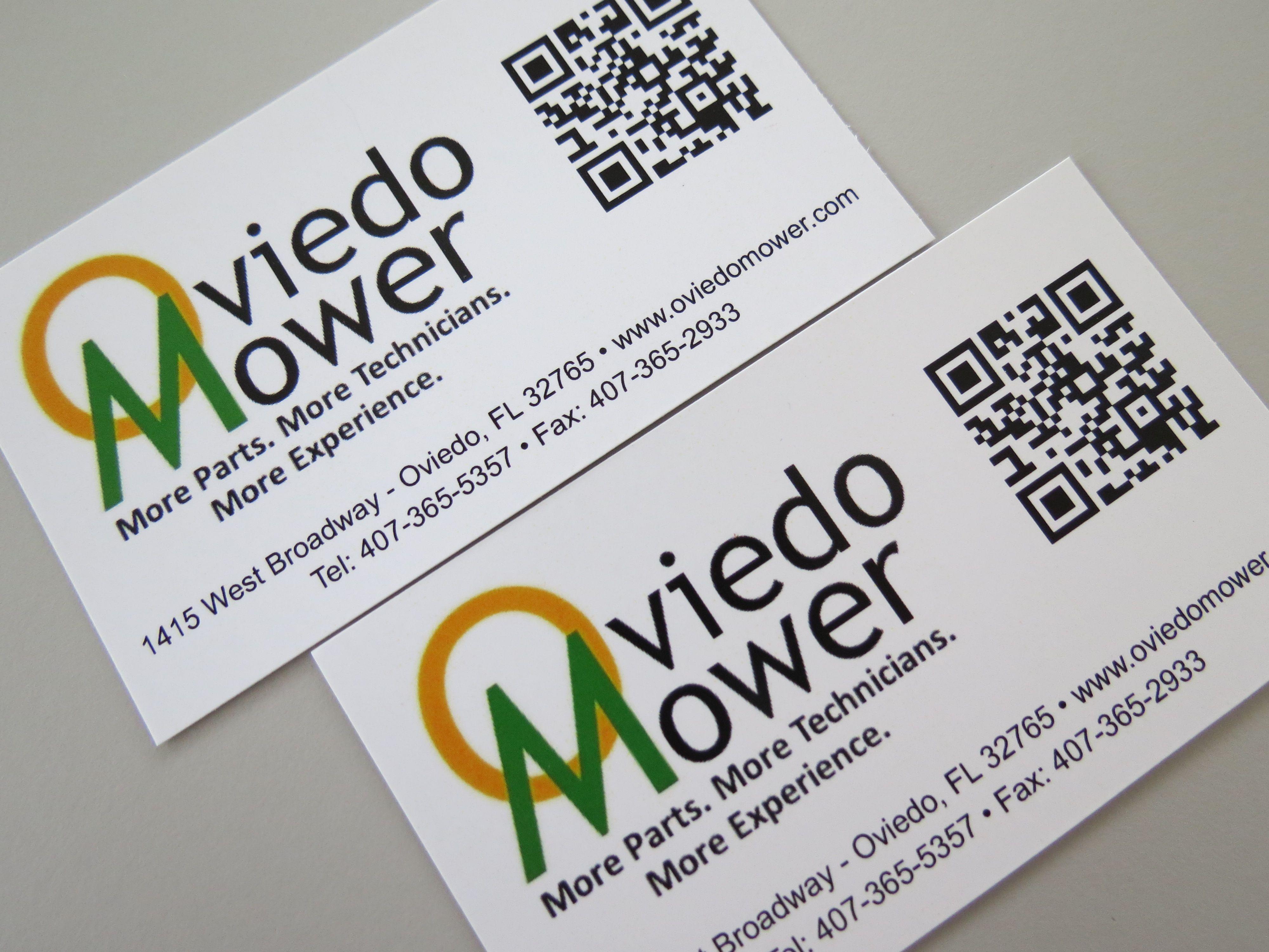 Business card digital print qr code wwwwinterpark
