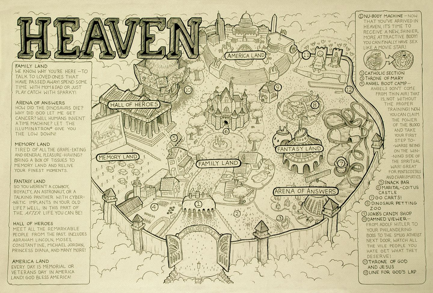 The Map Of Heaven 283 – Heaven Is An Amusement Park That Never Closes | GOA