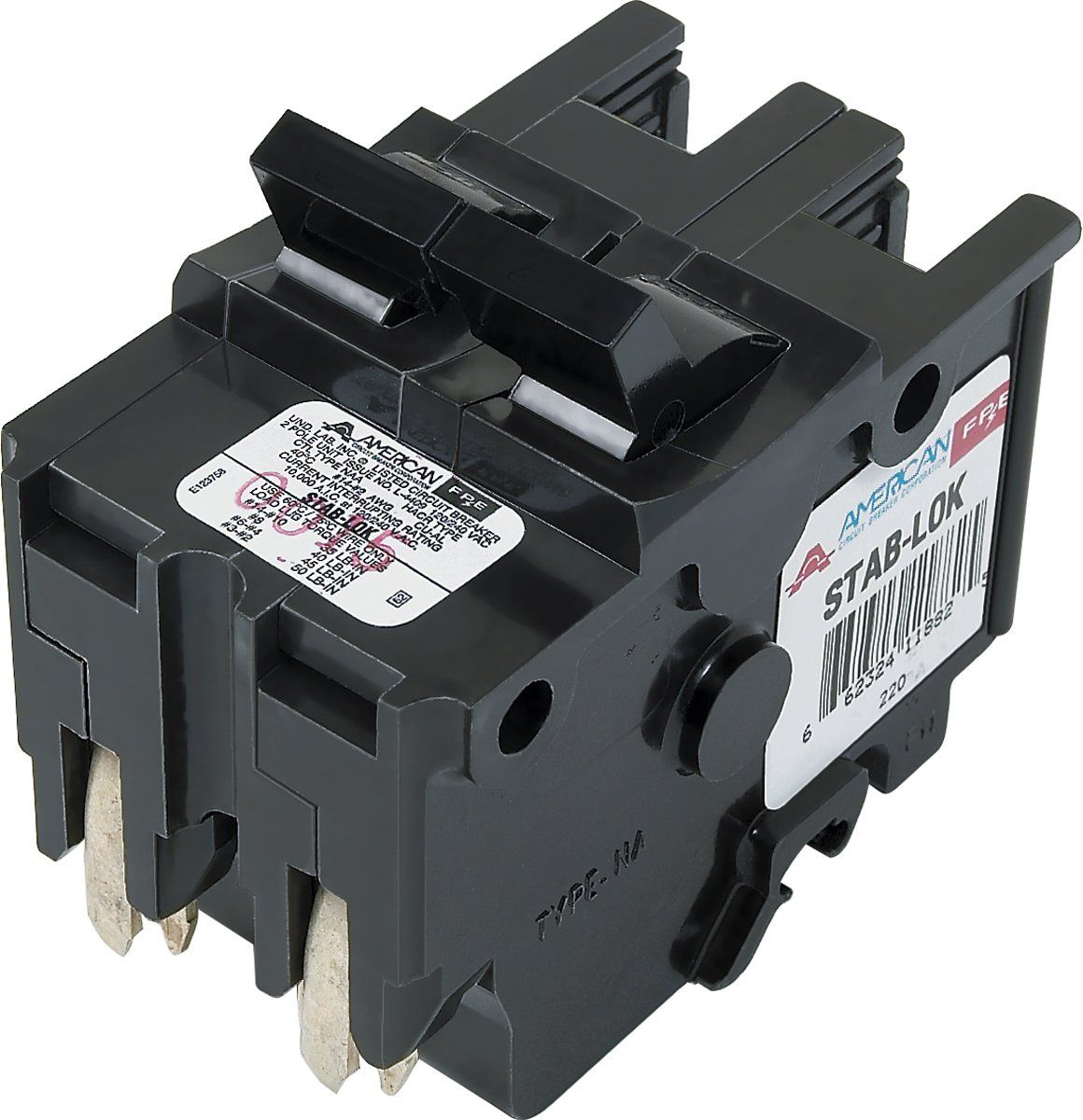 American Federal Pacific Circuit Breaker 2 Pole 30 Amp Thick Series Details Can Be Found By Clicking On The Image T Breakers Circuit Electrical Breakers