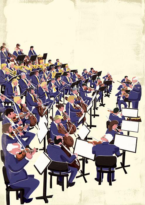 オーケストラ Orchestra Illustrations Gifs And Other In 2019