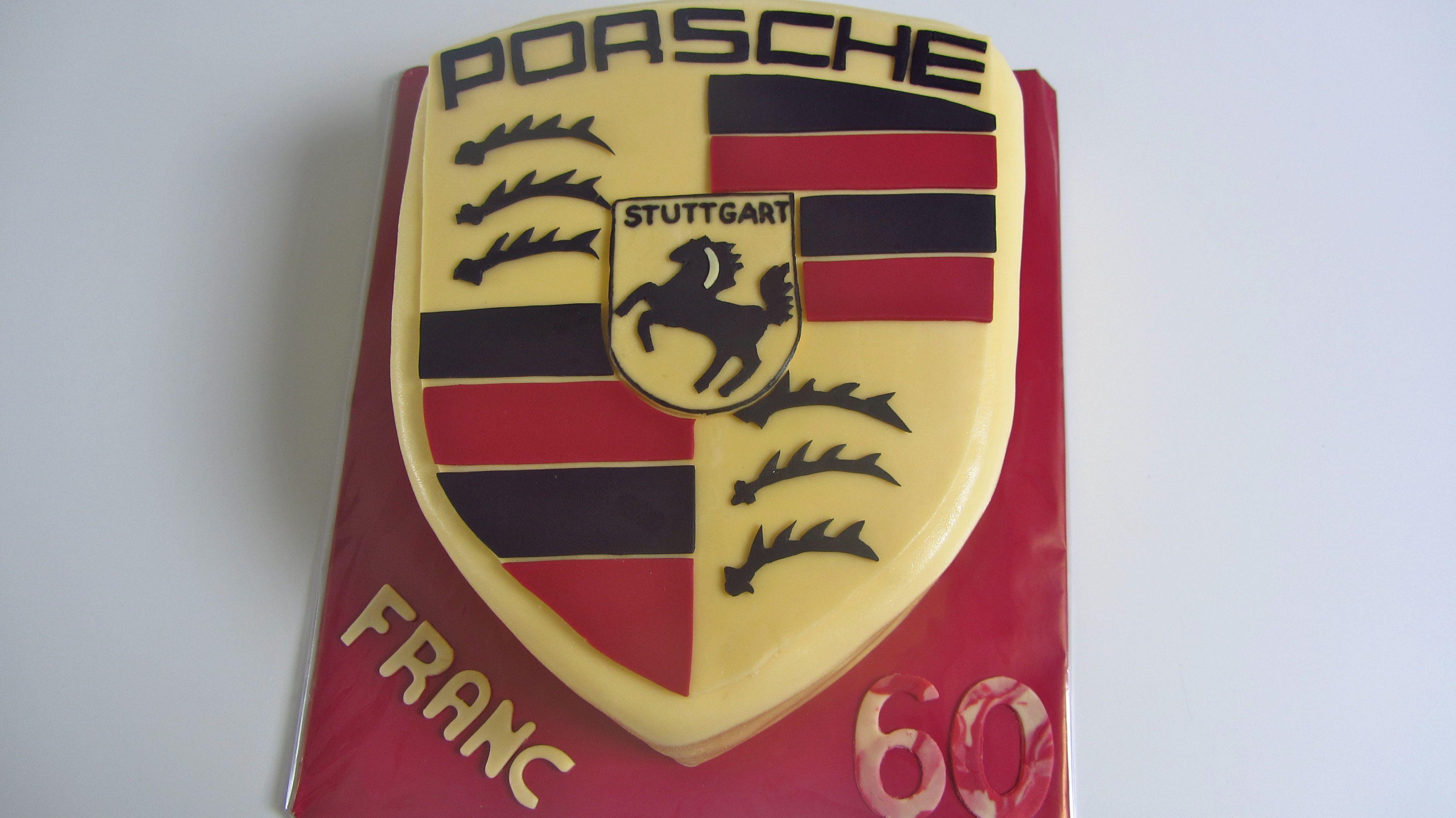 Porsche taart