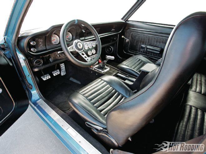 1972 Ford Maverick Some Kinda Blue Popular Hot Rodding