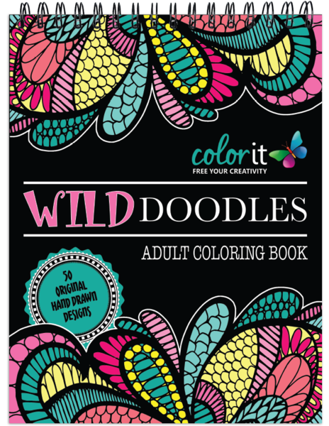 Community Loved Calming Doodles Volume 1 Making It A Best Seller Because Of This We Decided To Give Our Fans Another Anti Stress Coloring Book