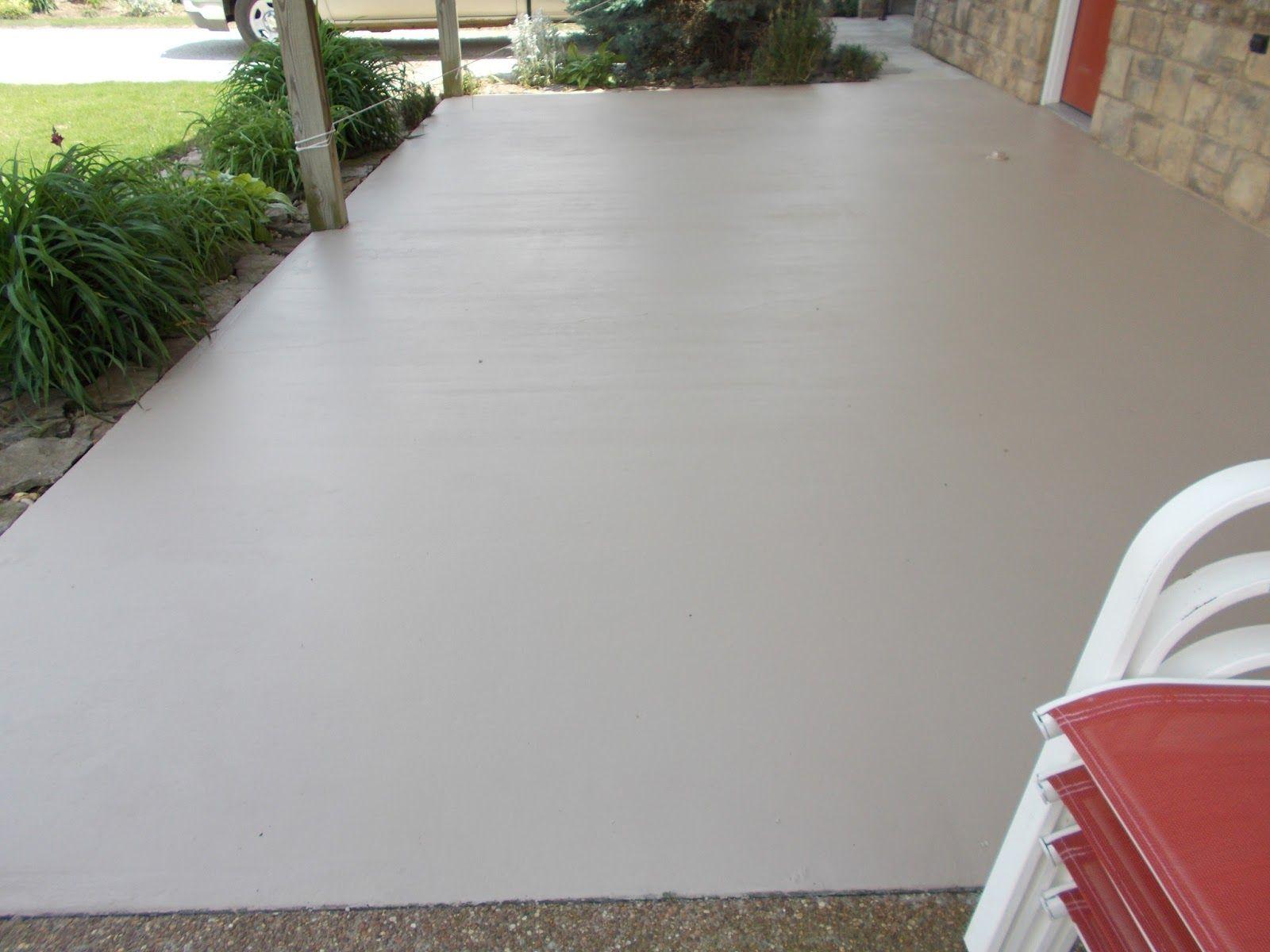 Attractive Front Porch Concrete Paint
