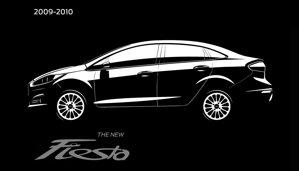 The new Ford Fiesta on Behance