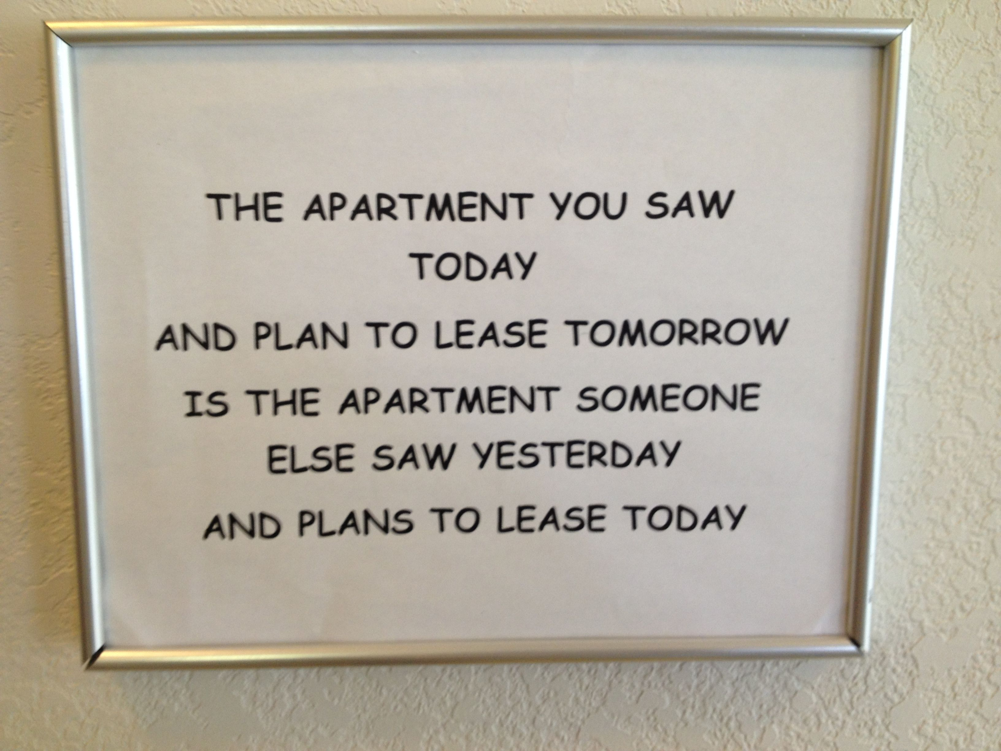 This is going up in my office asap apartment marketing pinterest this is going up in my office asap fandeluxe Gallery