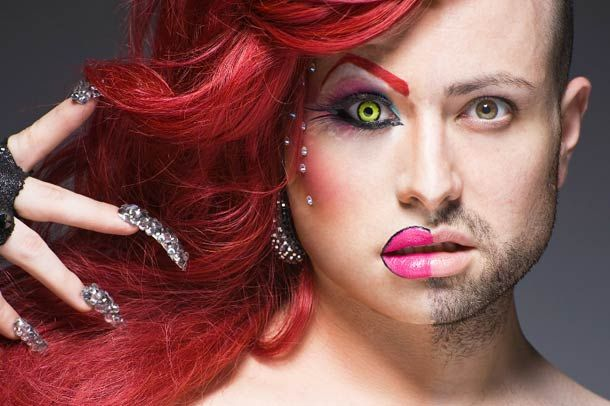 Half Drag Is A Project By Photographer Leland Bobbe These