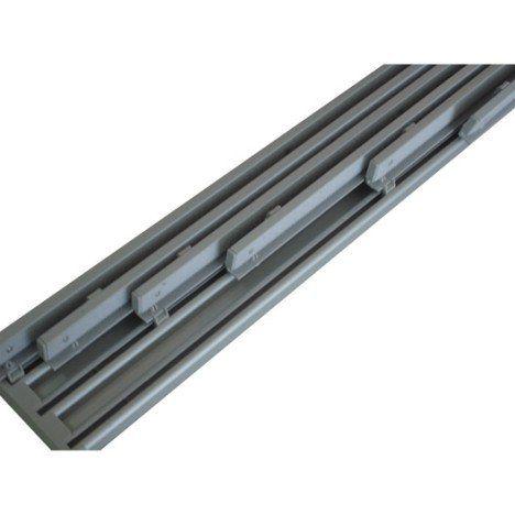 Rail extensible pour panneau japonais, aluminium, blanc, L.230/365 cm