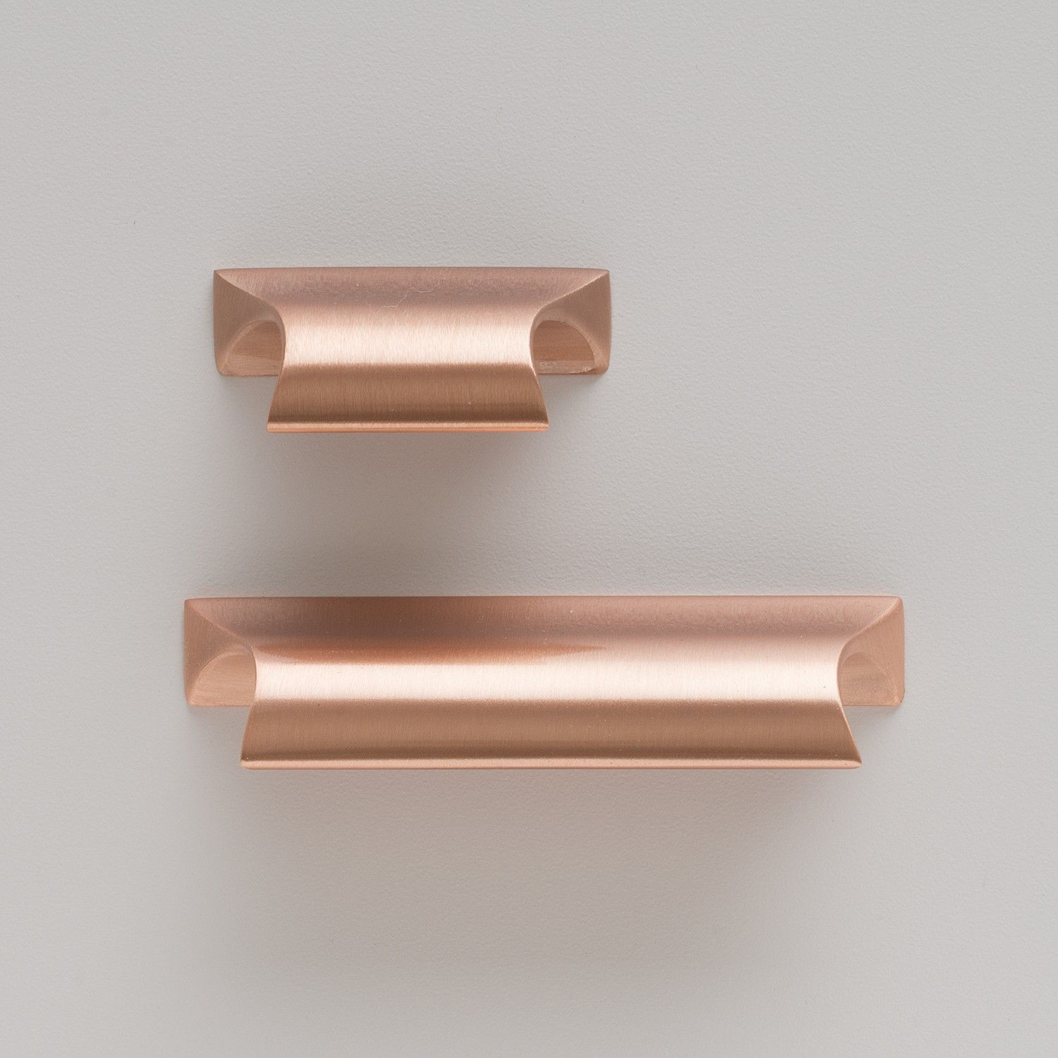 Card File Pull Satin Nickel Drawer Pulls Copper Cabinet Pulls