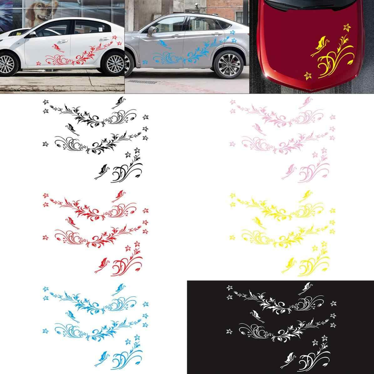 Waterproof 1pair Car Modifield Decal Vinyl Stickers Natural Flower Vine Dragonfly For Whole Car Body Dragonfly Wall Sticker Sticker Shopdragonfly Rotary Tattoo Wall Sticker Flowering Vines Vinyl Sticker [ 1195 x 1195 Pixel ]