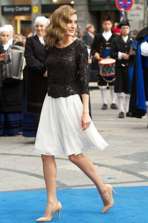 Click through for the best of the new queen's wardrobe.