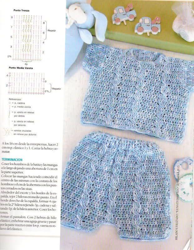 Camisetitas y bombachos para bebés para el verano (lomargo) | boys ...