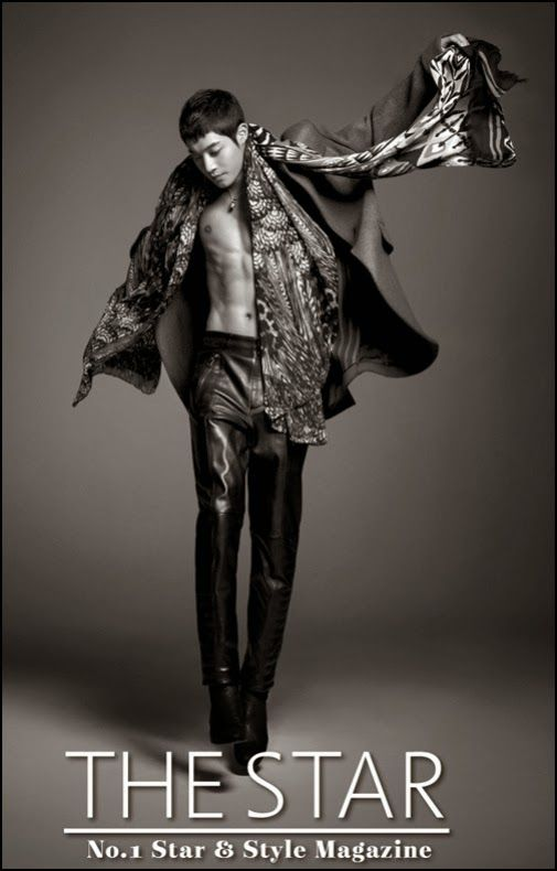 """Kim Hyun Joong para la revista de moda """"The Star"""""""