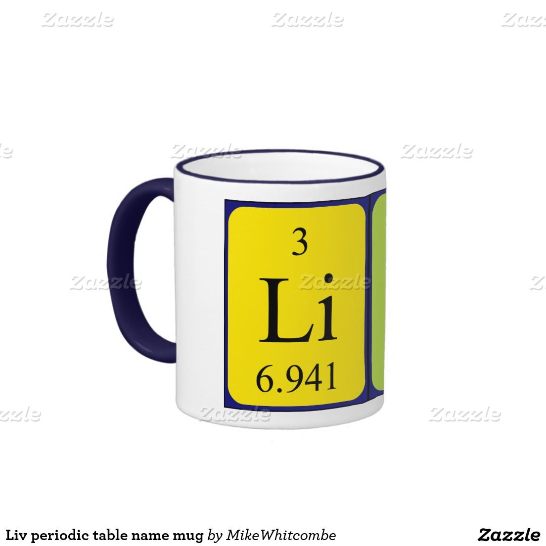 Liv periodic table name mug february 2016 sales from my zazzle liv periodic table name mug urtaz Image collections