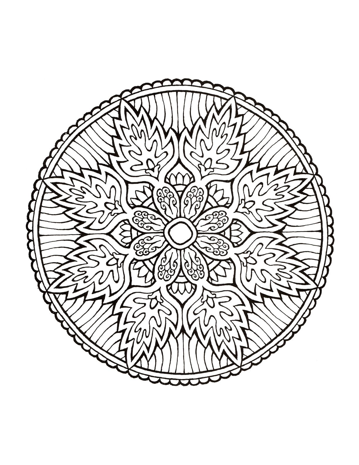 Mystical mandala coloring pages - Dover coloring book mystical mandala coloring book