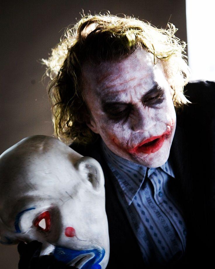 Joker Heath Ledger Con Imagenes Batman Peliculas Caballero