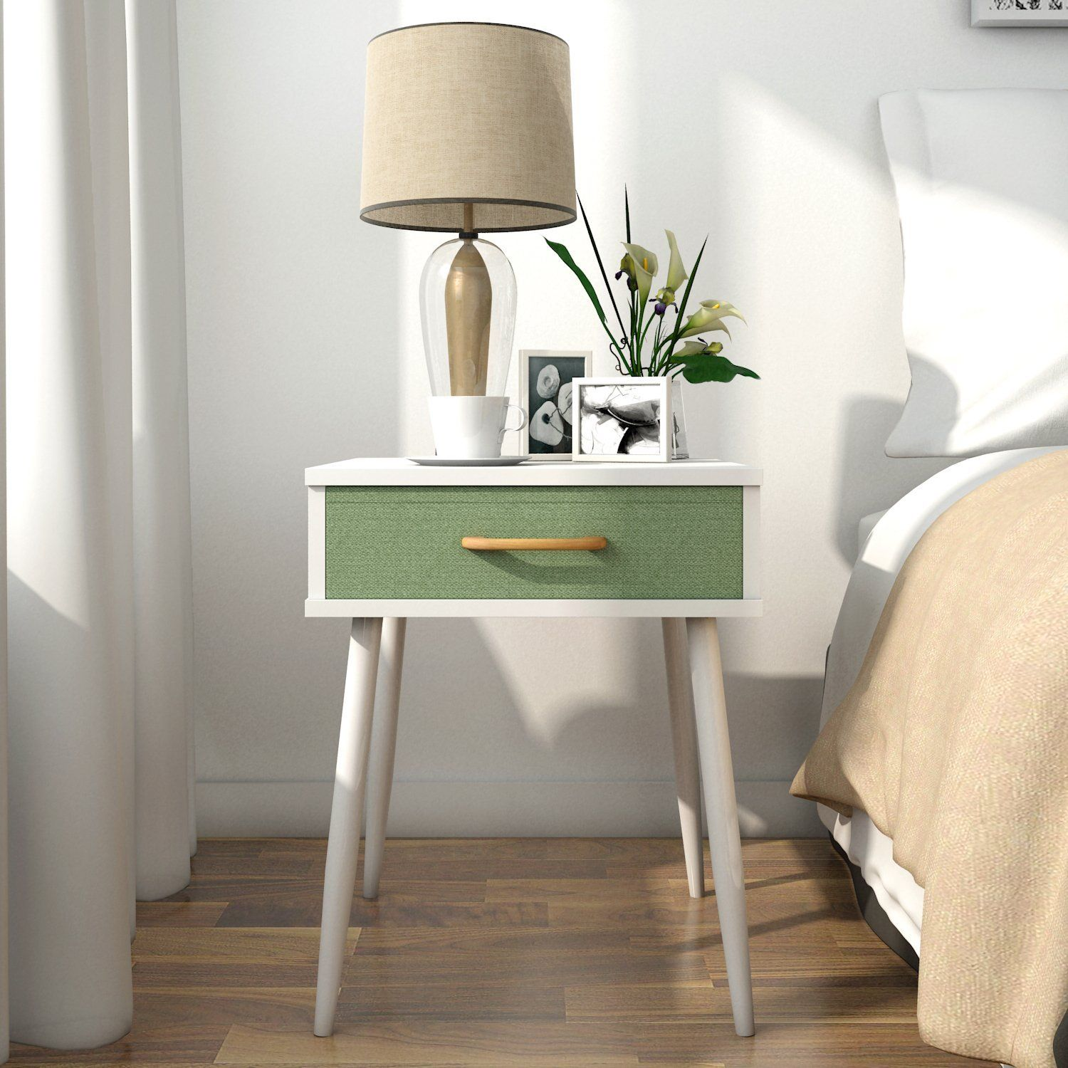 Lifewit Side End Table Nightstand Bedroom Living Room Table Cabinet