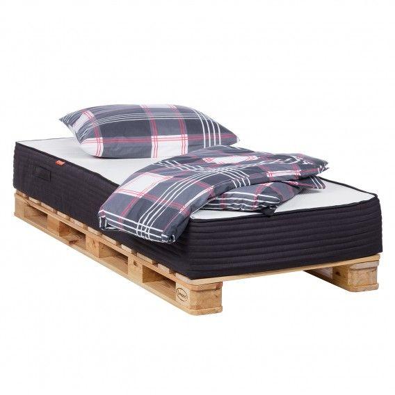 Palettenbett Smood 90x200 Cm Aus Massivholz Online Kaufen Home24 Bett Ideen Palettenbett Bett