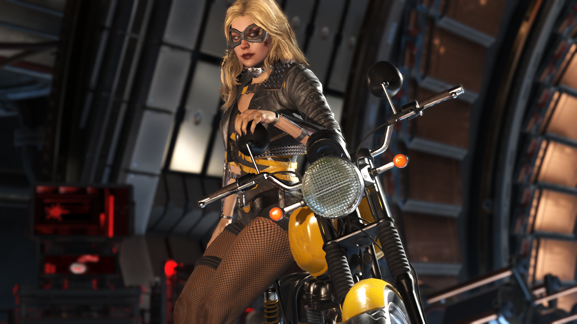Injustice 2 Black Canary Begining Pose By Cruzermodz Black Canary Injustice 2 Black Canary Injustice 2