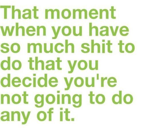 #senioritis  Story of my life.