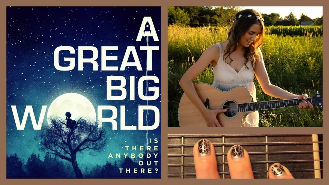 Say Something Guitar Tutorial A Great Big World Feat Christina