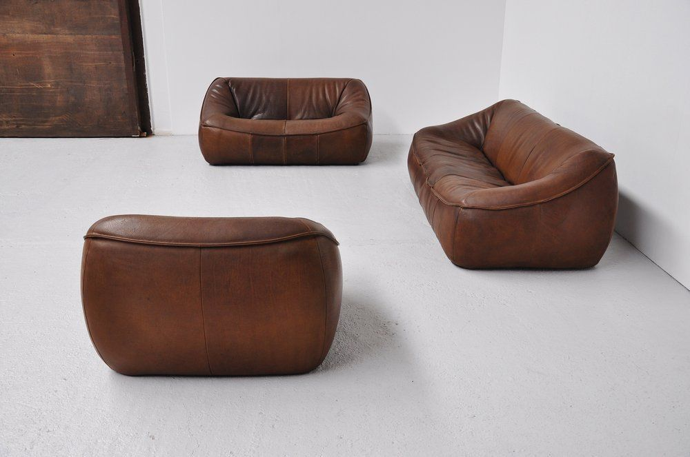 Home Leather Living Room Furniture Top Grain Leather Sofa Living Room Sofa Set