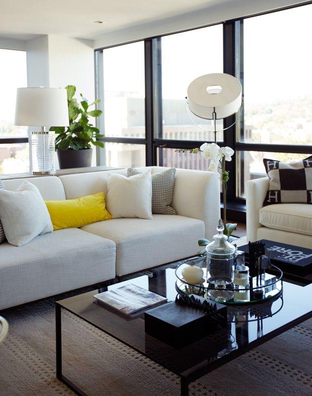 Living Room Condo Decorating: Style : 10 Appartements Au Décor Personnalisé